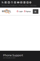Responsive Hotel Master Frame/Page