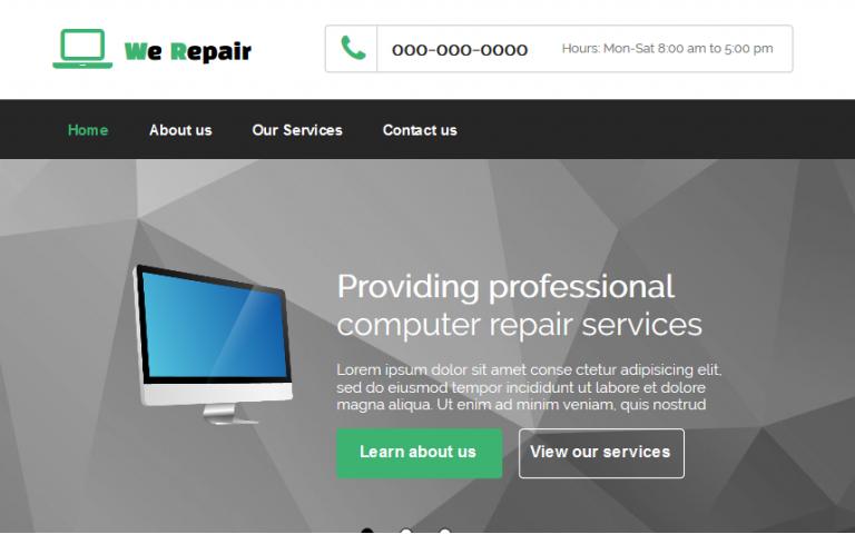 We Repair